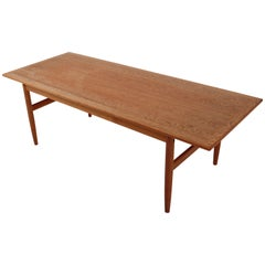 Danish Midcentury Coffee Table in Teak, 1960s