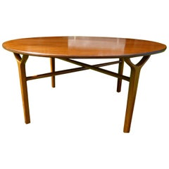 Danish Midcentury Coffee Table Peter Hvidt & Orla Nielsen, 'AX' Series, 1950s