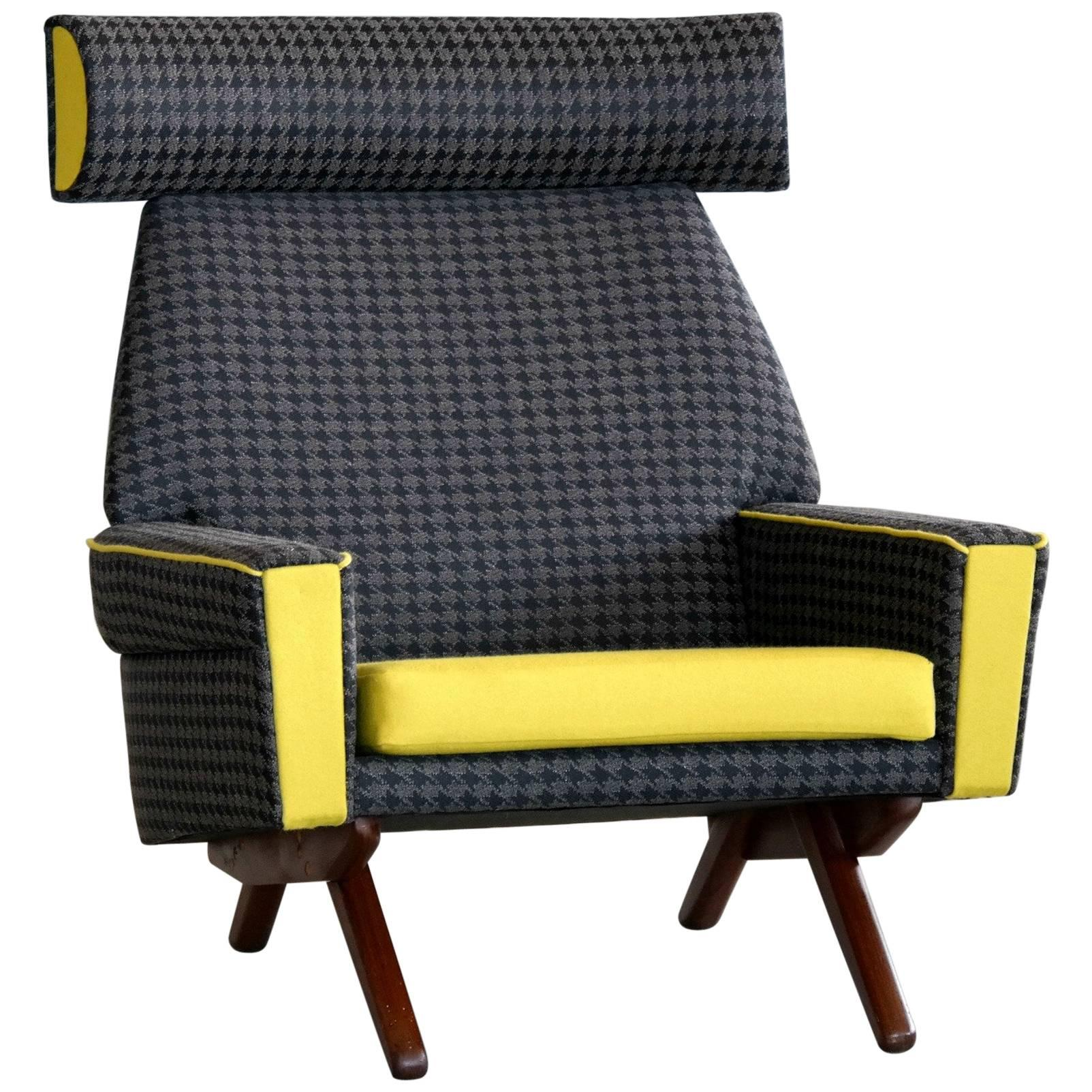 Danish Midcentury Chair by Leif Hansen for Kronen