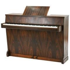 Danish Midcentury Hindsberg Rosewood Pianette