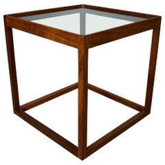 Danish Midcentury, Kurt Ostervig Cube Table