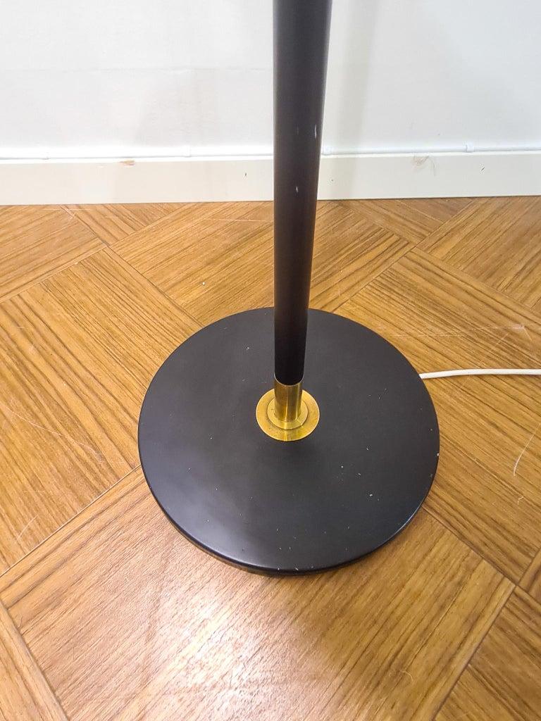 Danish Midcentury Le Klint Floor Lamp No 351 Designed by Aage Petersen, Denmark For Sale 4