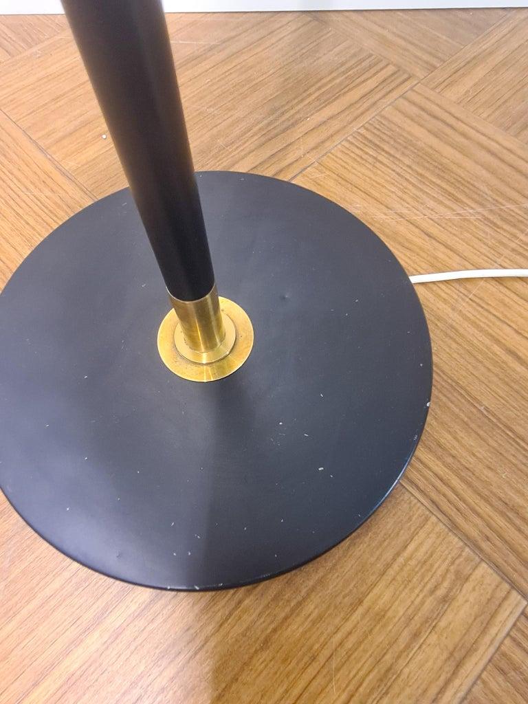 Danish Midcentury Le Klint Floor Lamp No 351 Designed by Aage Petersen, Denmark For Sale 5