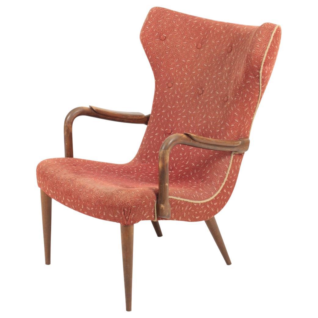 Danish Midcentury Lounge Chair, 1950s
