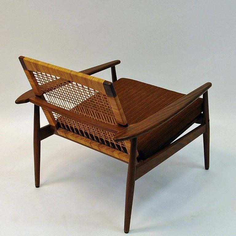 Danish Midcentury Lounge Chair by Hans Olsen for Juul Kristensen, 1960s For Sale 4