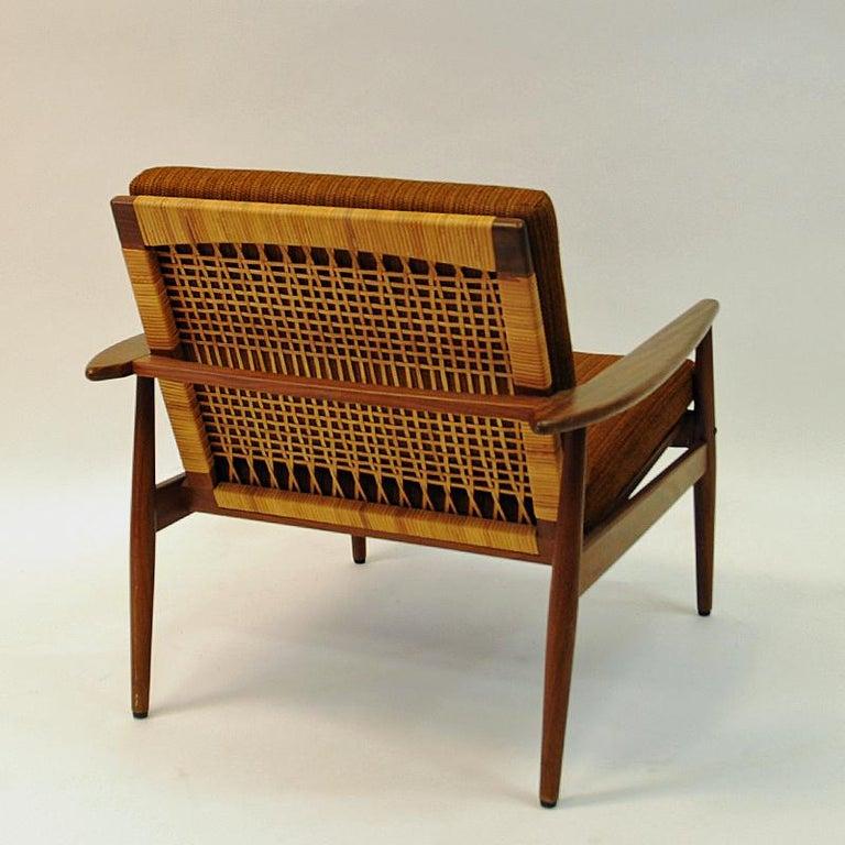 Danish Midcentury Lounge Chair by Hans Olsen for Juul Kristensen, 1960s For Sale 5