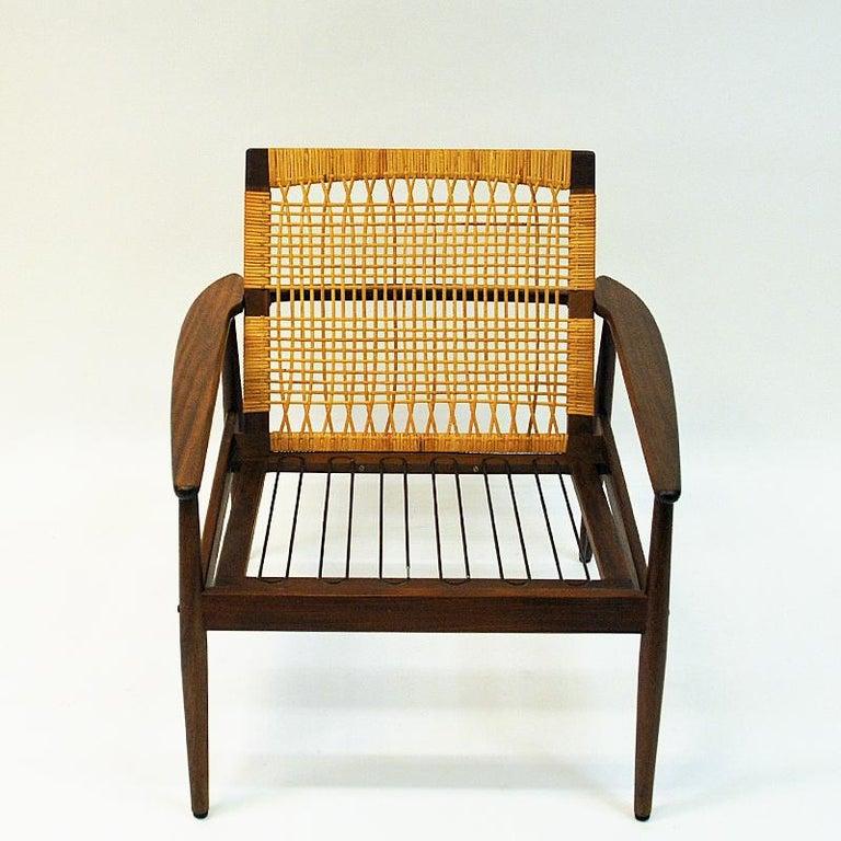 Danish Midcentury Lounge Chair by Hans Olsen for Juul Kristensen, 1960s For Sale 6