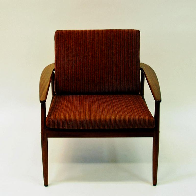 Danish Midcentury Lounge Chair by Hans Olsen for Juul Kristensen, 1960s In Good Condition For Sale In Stockholm, SE