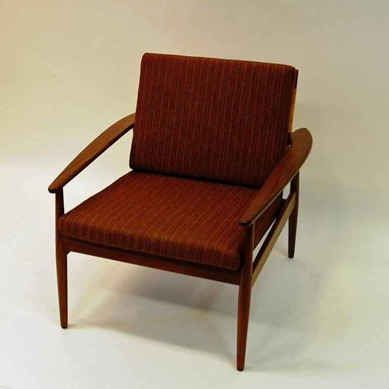 Mid-20th Century Danish Midcentury Lounge Chair by Hans Olsen for Juul Kristensen, 1960s For Sale