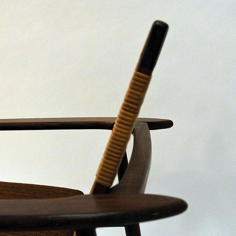 Danish Midcentury Lounge Chair by Hans Olsen for Juul Kristensen, 1960s For Sale 1