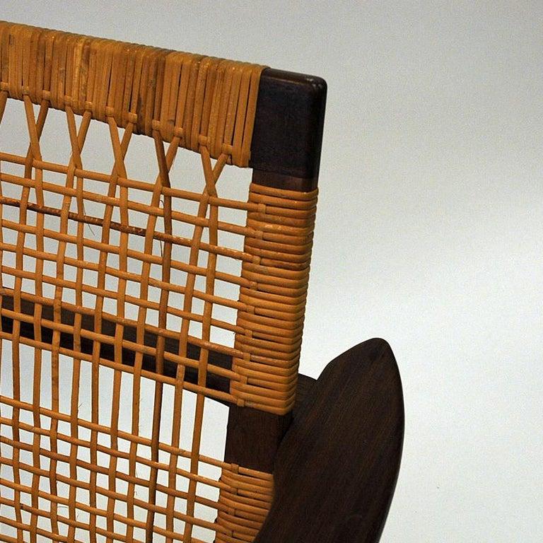 Danish Midcentury Lounge Chair by Hans Olsen for Juul Kristensen, 1960s For Sale 2
