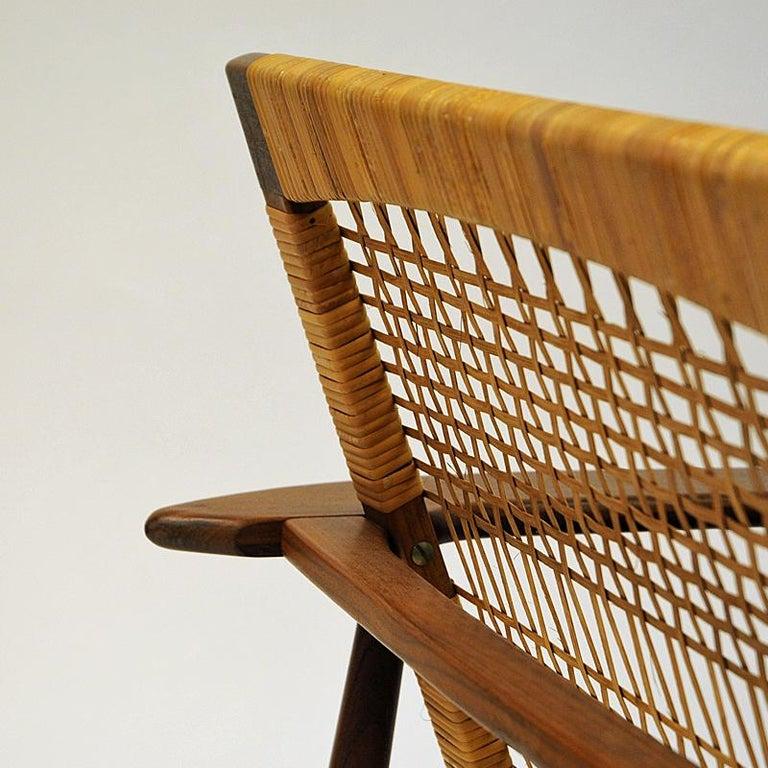 Danish Midcentury Lounge Chair by Hans Olsen for Juul Kristensen, 1960s For Sale 3