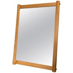 Danish Midcentury Mirror, Oak, Aksel Kjersgaard