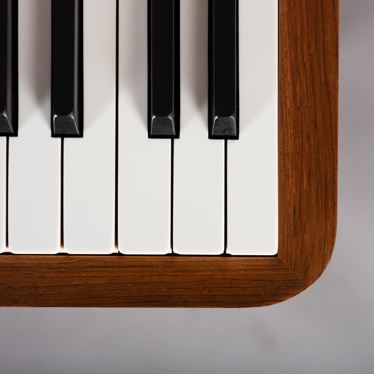 Danish Mid-Century Modern Hardwood Pianette Bij Louis Zwicki, 1960s For Sale 5