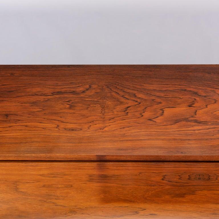 Danish Mid-Century Modern Hardwood Pianette Bij Louis Zwicki, 1960s For Sale 8