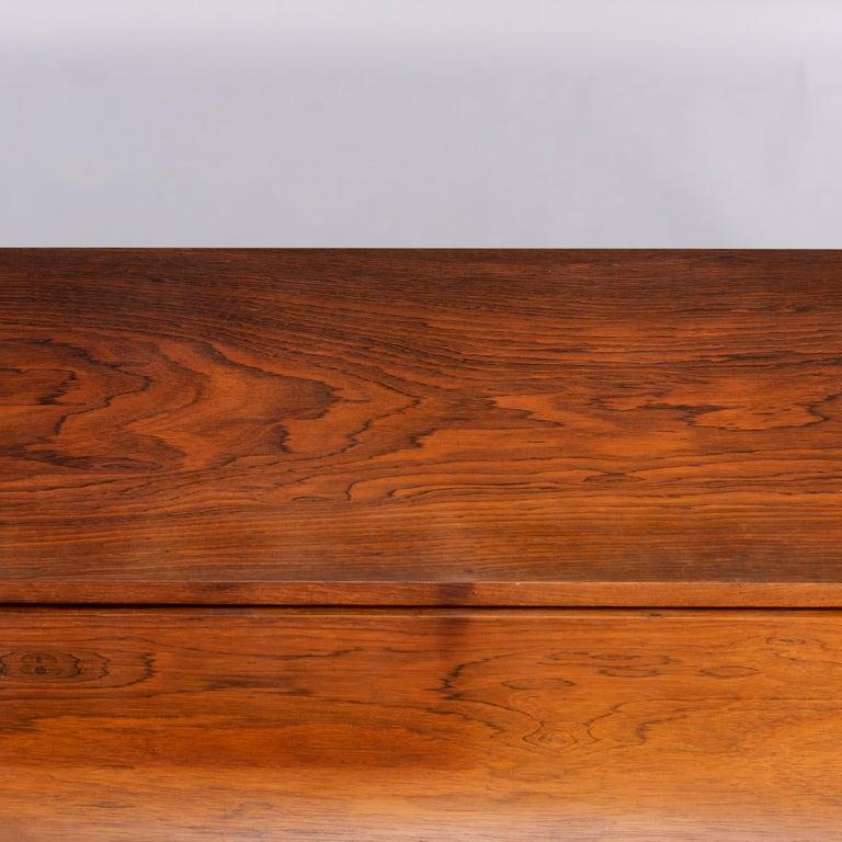 Danish Mid-Century Modern Hardwood Pianette Bij Louis Zwicki, 1960s For Sale 9