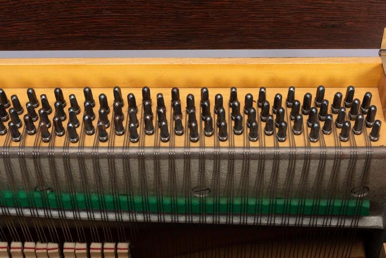 Danish Mid-Century Modern Hardwood Pianette Bij Louis Zwicki, 1960s For Sale 12
