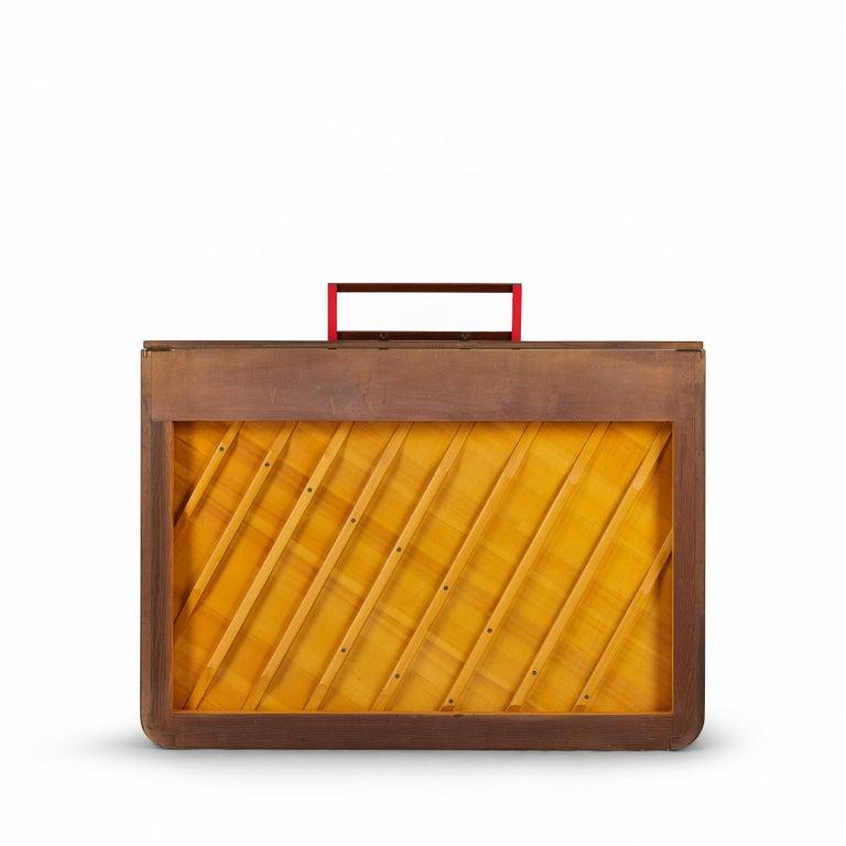 Danish Mid-Century Modern Hardwood Pianette Bij Louis Zwicki, 1960s For Sale 1