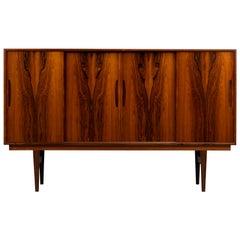Danish Mid-Century Modern High Rosewood Sideboard by Mørke Møbler, 1960s