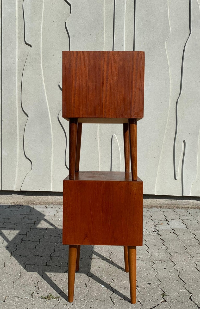 Danish Midcentury Nightstands For Sale 6