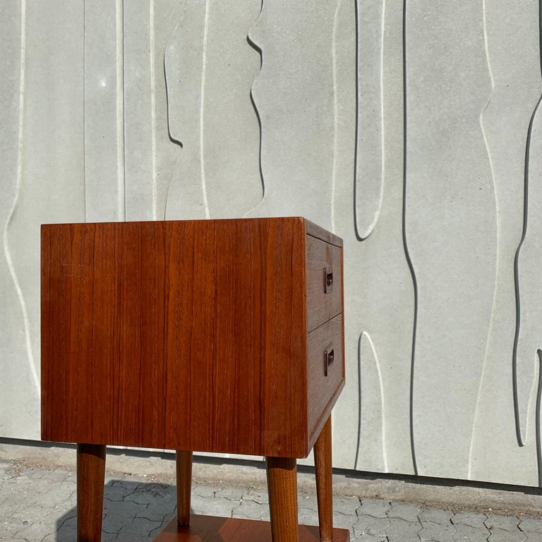 Danish Midcentury Nightstands For Sale 7