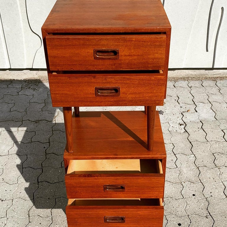 Danish Midcentury Nightstands For Sale 8