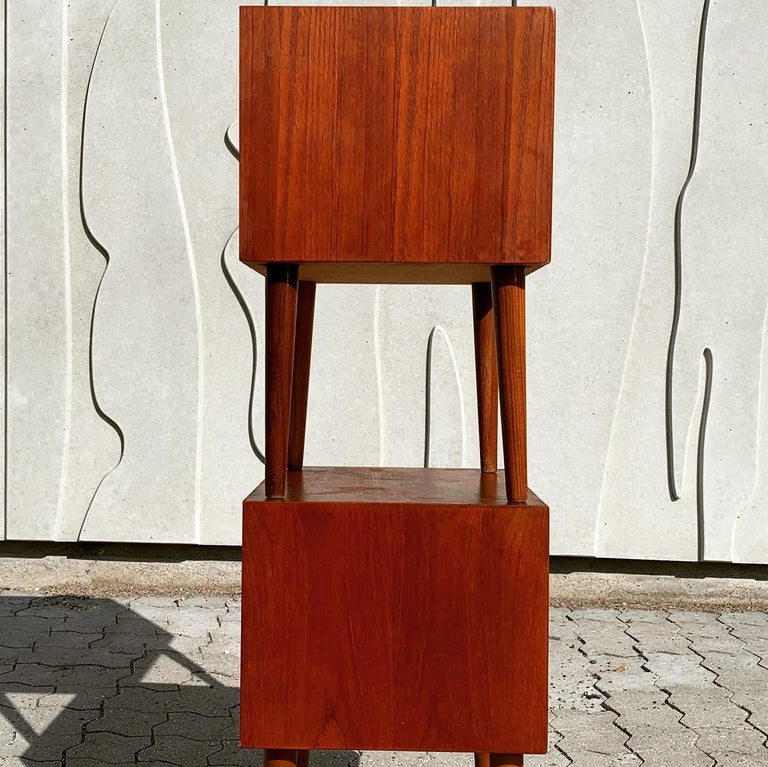 Danish Midcentury Nightstands For Sale 13