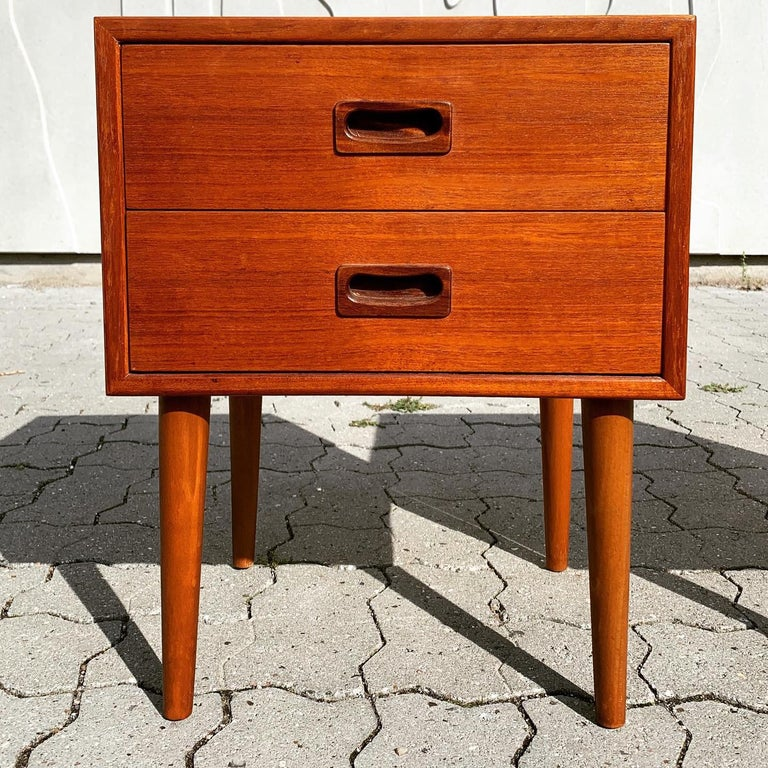 Danish Midcentury Nightstands For Sale 14