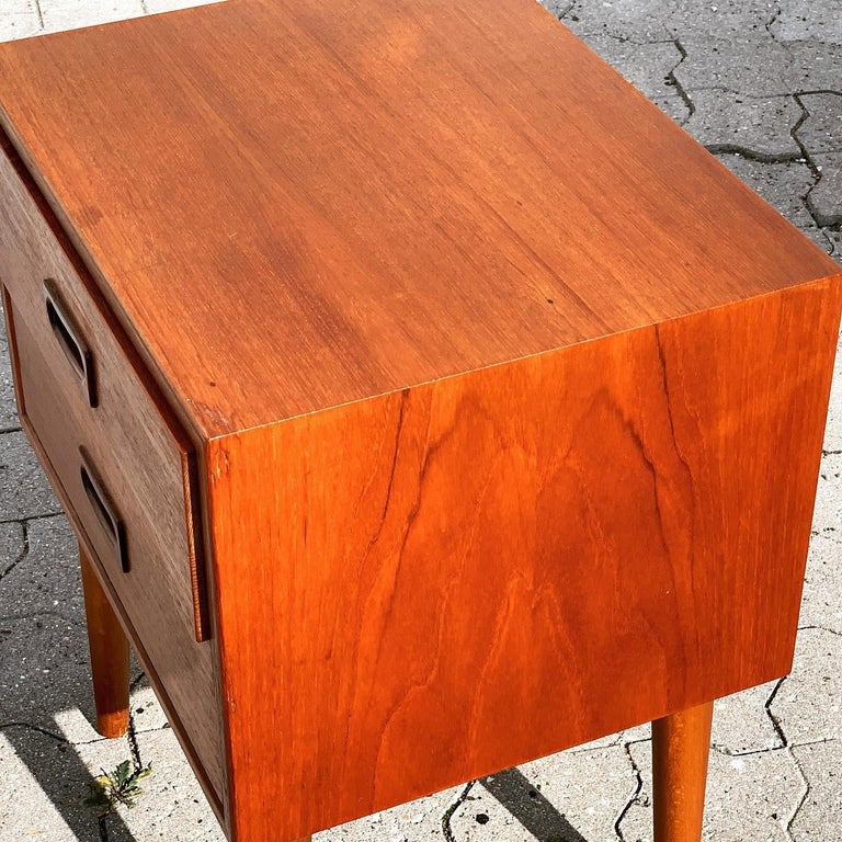Danish Midcentury Nightstands For Sale 15