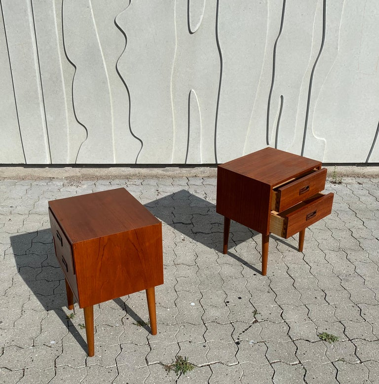 Danish Midcentury Nightstands For Sale 1