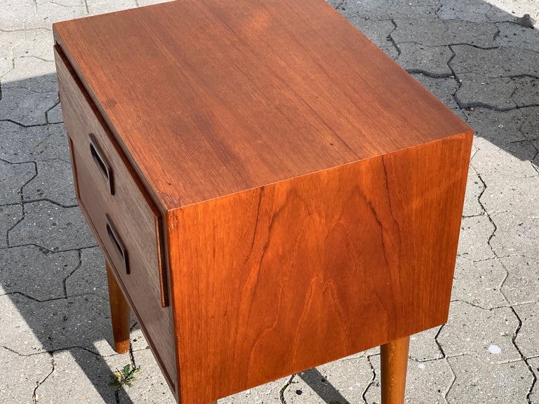 Danish Midcentury Nightstands For Sale 2
