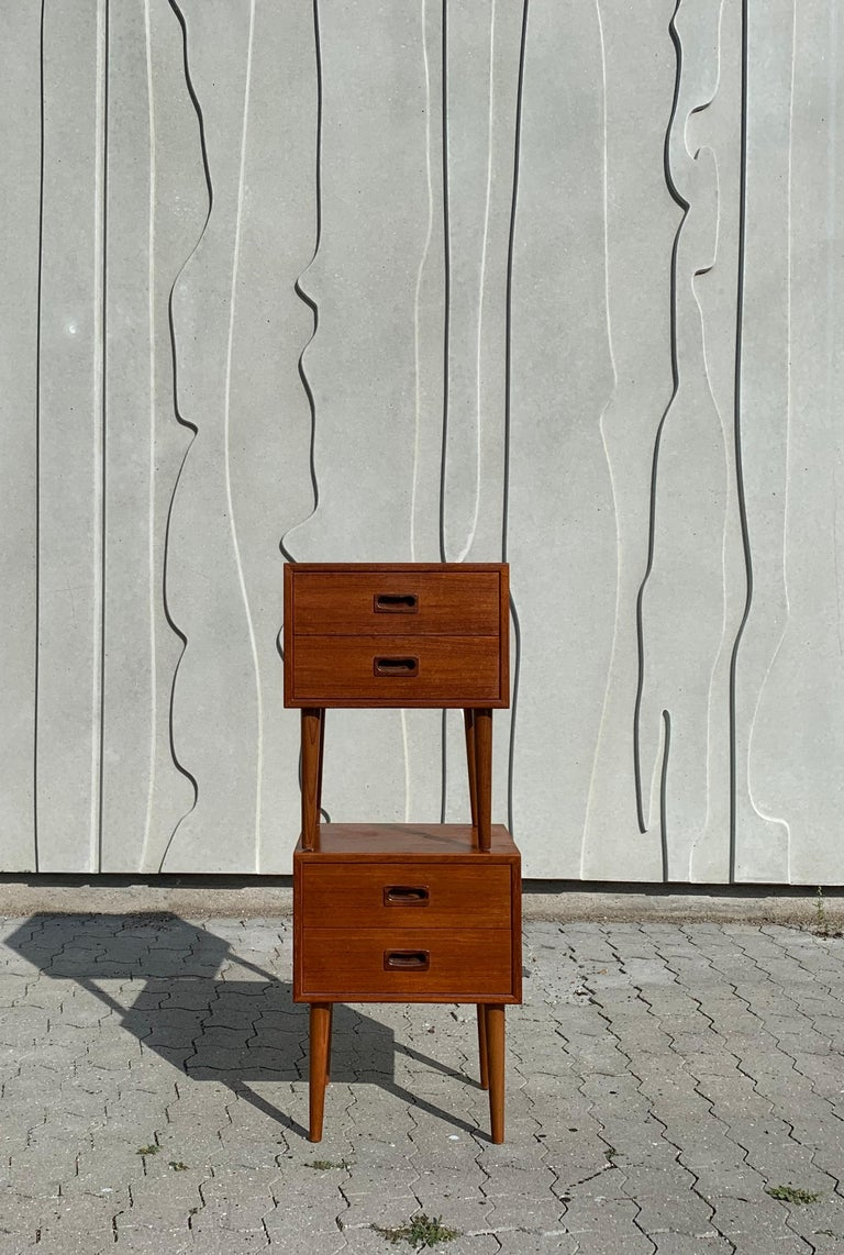 Danish Midcentury Nightstands For Sale 3