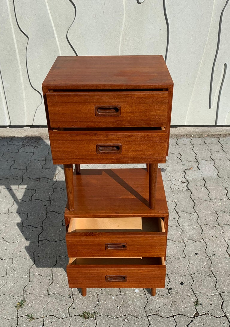 Danish Midcentury Nightstands For Sale 4