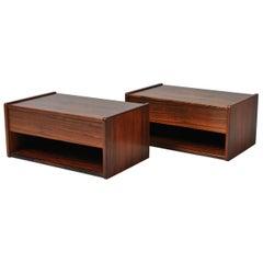 Danish Midcentury Nightstands or Shelves