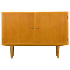 Danish Midcentury Oak Sideboard by Carlo Jensen for Hundevad & Co