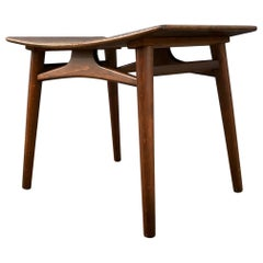 Danish Midcentury Oak Stool by Edmund Jorgensen, 1950s