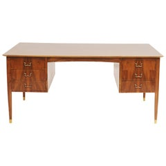 Danish Midcentury Ole Wanscher Patner's Desk