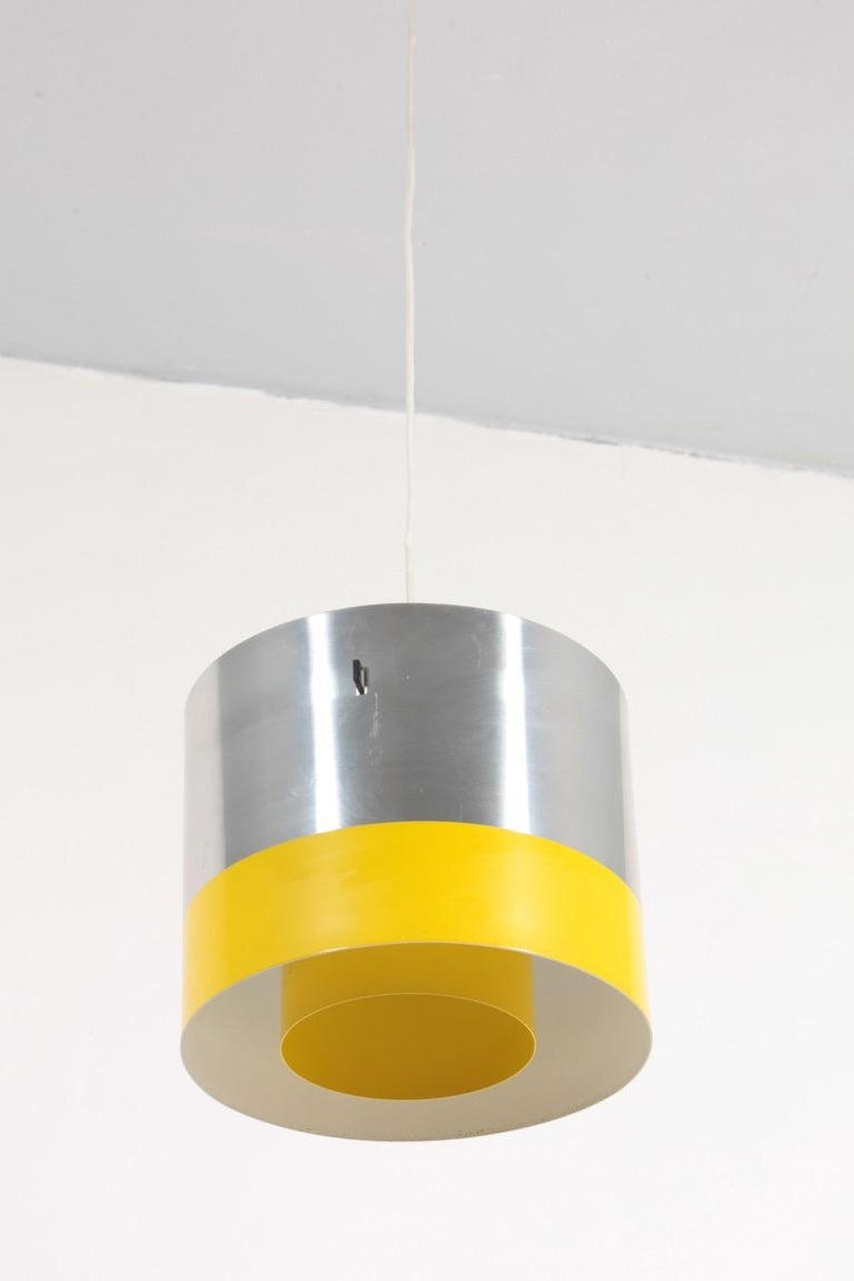 Danish Midcentury Pendant Designed by Lyfa, 1950s For Sale 1
