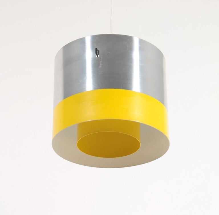 Danish Midcentury Pendant Designed by Lyfa, 1950s For Sale 2