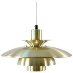 Danish Midcentury Pendant Lamp by Lyskjær Belysning, 1960s