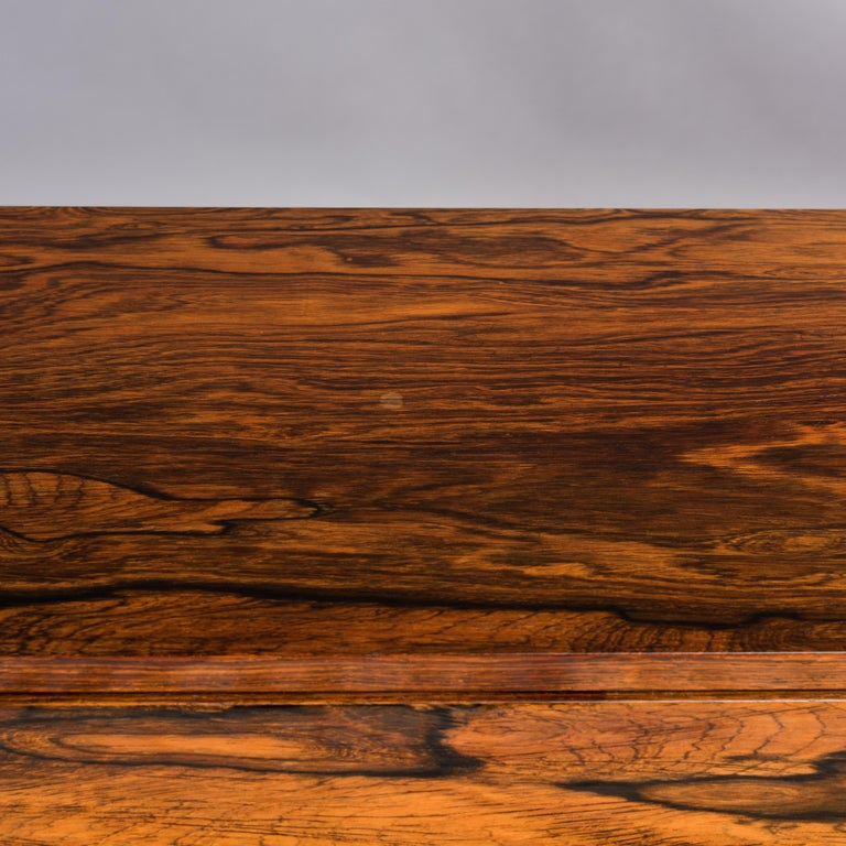 Danish Midcentury Pianette by Louis Zwicki in Expressive Rosewood, 1950s For Sale 4