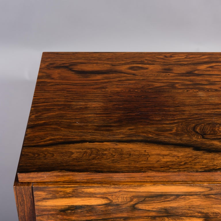Danish Midcentury Pianette by Louis Zwicki in Expressive Rosewood, 1950s For Sale 3
