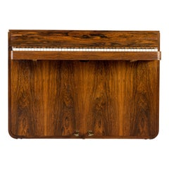 Danish Midcentury Pianette by Louis Zwicki in Expressive Rosewood, 1950s