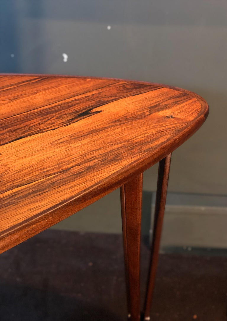 BC Mobler, Danish Midcentury Rosewood Coffee Table For Sale 5