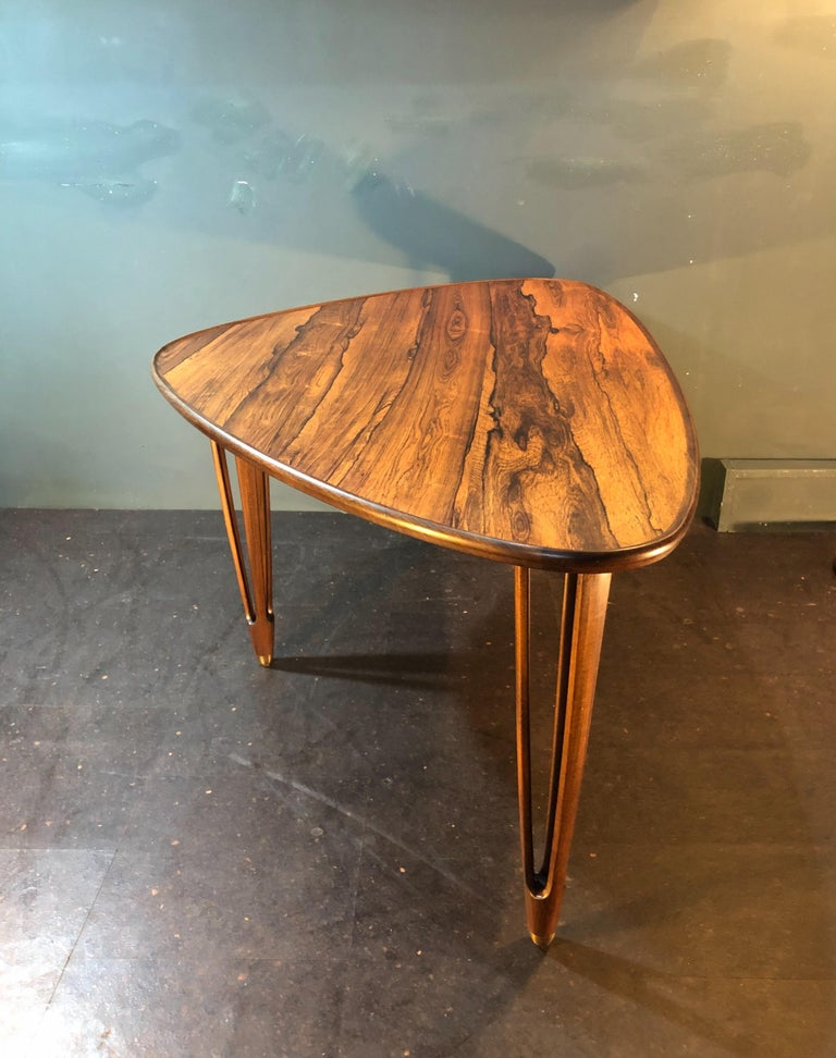 BC Mobler, Danish Midcentury Rosewood Coffee Table For Sale 6