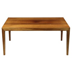 Danish Midcentury Rosewood Coffee Table by Severin Hansen for Haslev c.1960