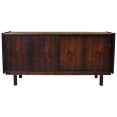 Danish Midcentury Rosewood Credenza Sideboard