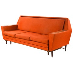 Danish Midcentury Rosewood Daybed Sofa