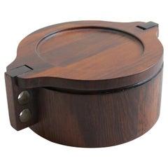 Danish Midcentury Rosewood Pot by Woodline Denmark