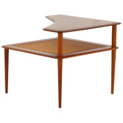 "Danish Midcentury Side Table ""Minerva"" by Hvidt & Mølgaard for France & Son"